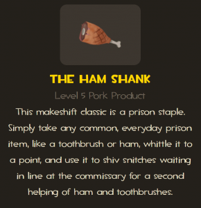 Ham shank tf2 melee weapon description