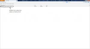 Screenshot showing media.windows-media-foundation.enabled disabled in FireFox's about:config page